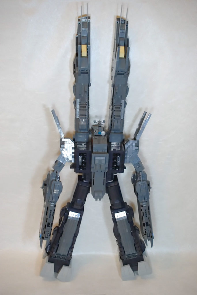 Custom LEGO Macross SDF-1 Fortress Spaceship
