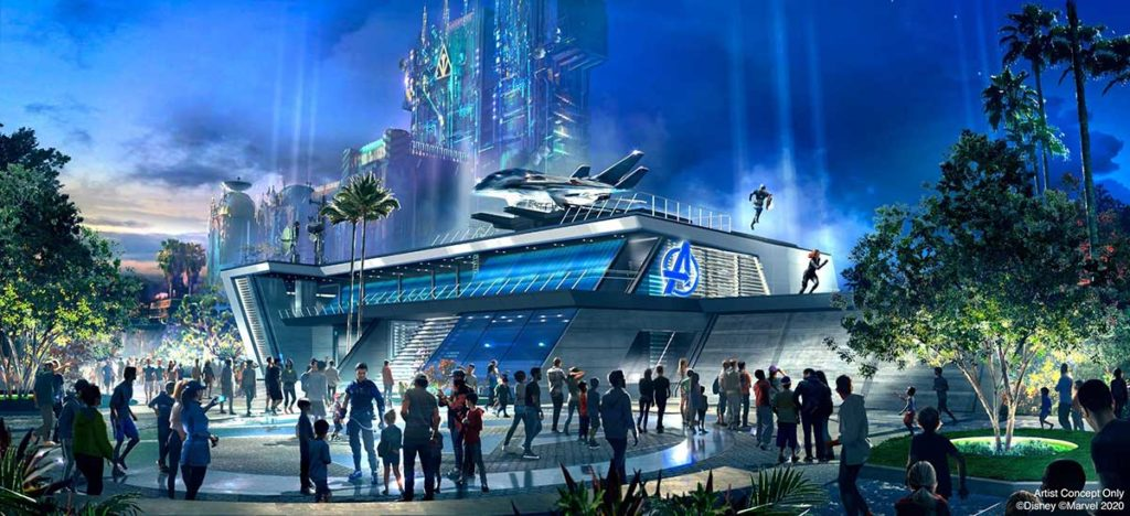 Disneyland Resort Avenger Campus July 2020
