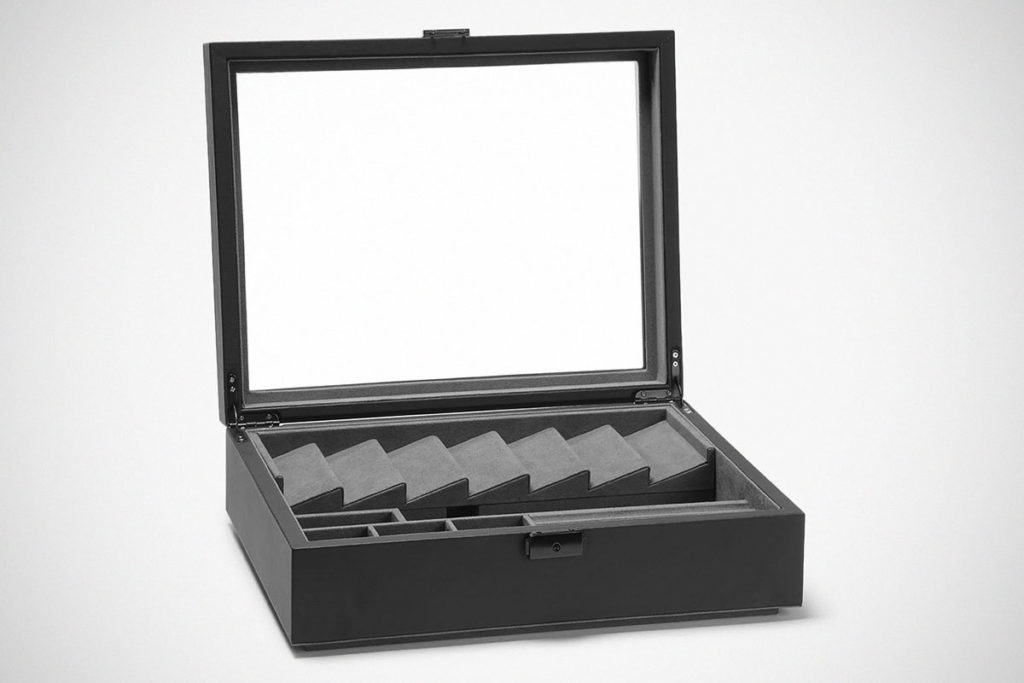 Drop Cache Display Valet Case