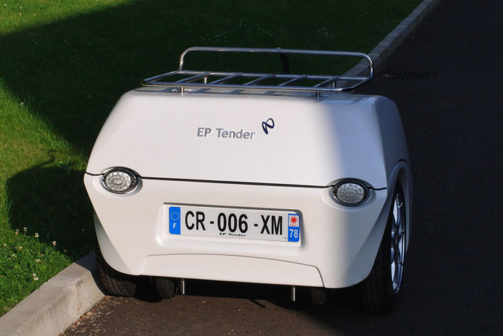 EP Tender Battery Trailer for Electric Vehicles