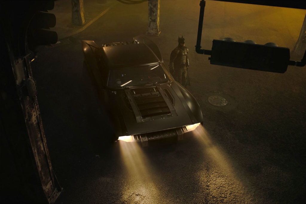 First Images of Robert Pattinson's Batmobile