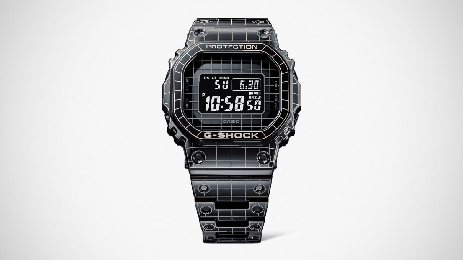 G-Shock GMW-B5000CS Laser-Carved Watch