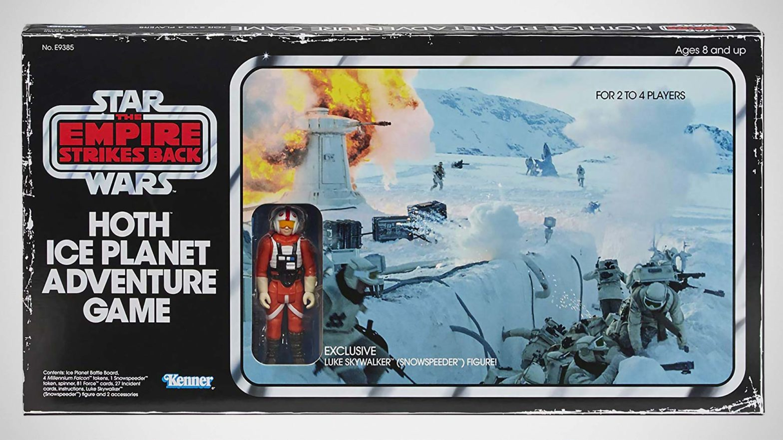 Hasbro Hoth Ice Planet Adventure Board Game