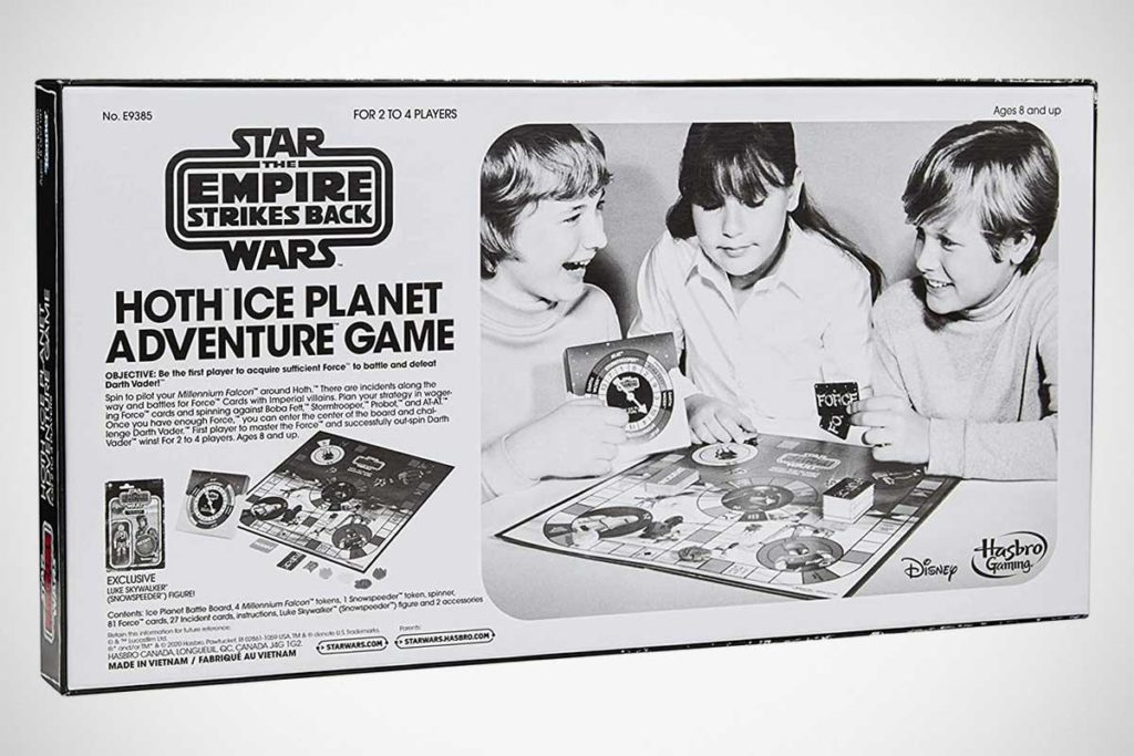 Hasbro Hoth Ice Planet Adventure Board Game