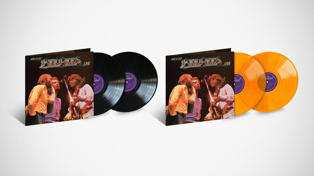 Here at Last…Bee Gees…Live Remastered LPs