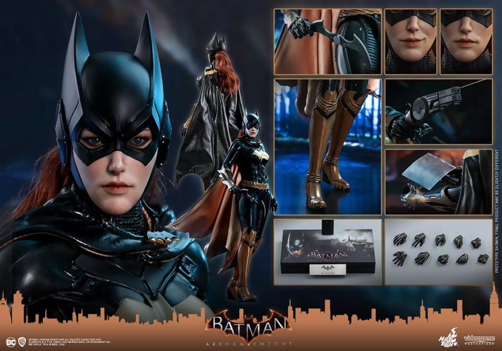 Hot Toys Batman: Arkham Knight Batgirl 1/6th Scale Collectible Figure