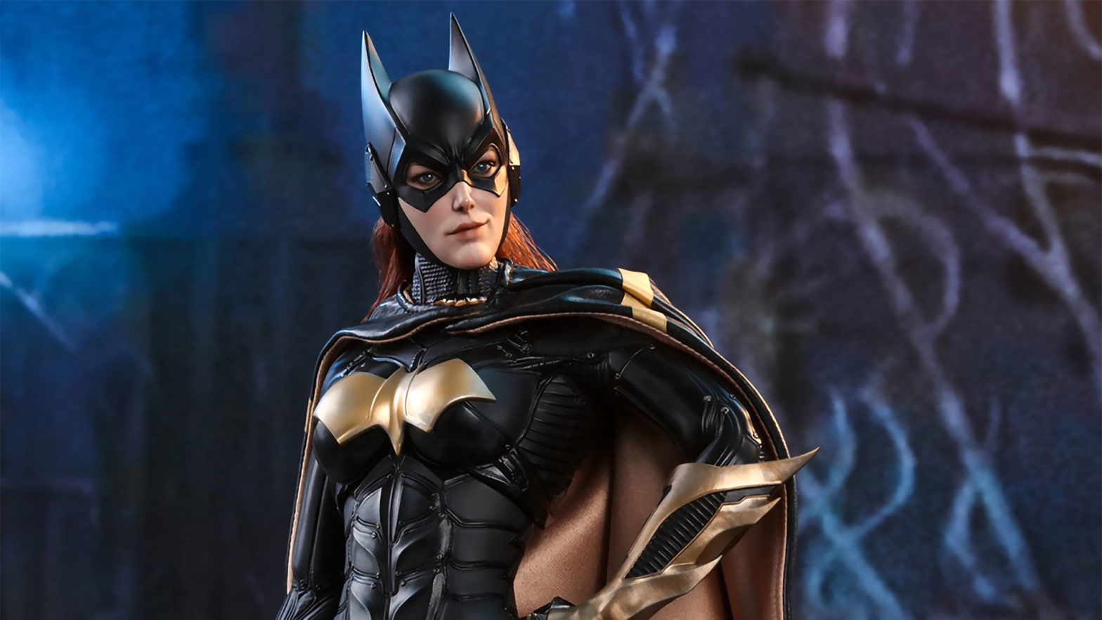 Hot Toys Arkham Knight Batman and Batgirl Figures