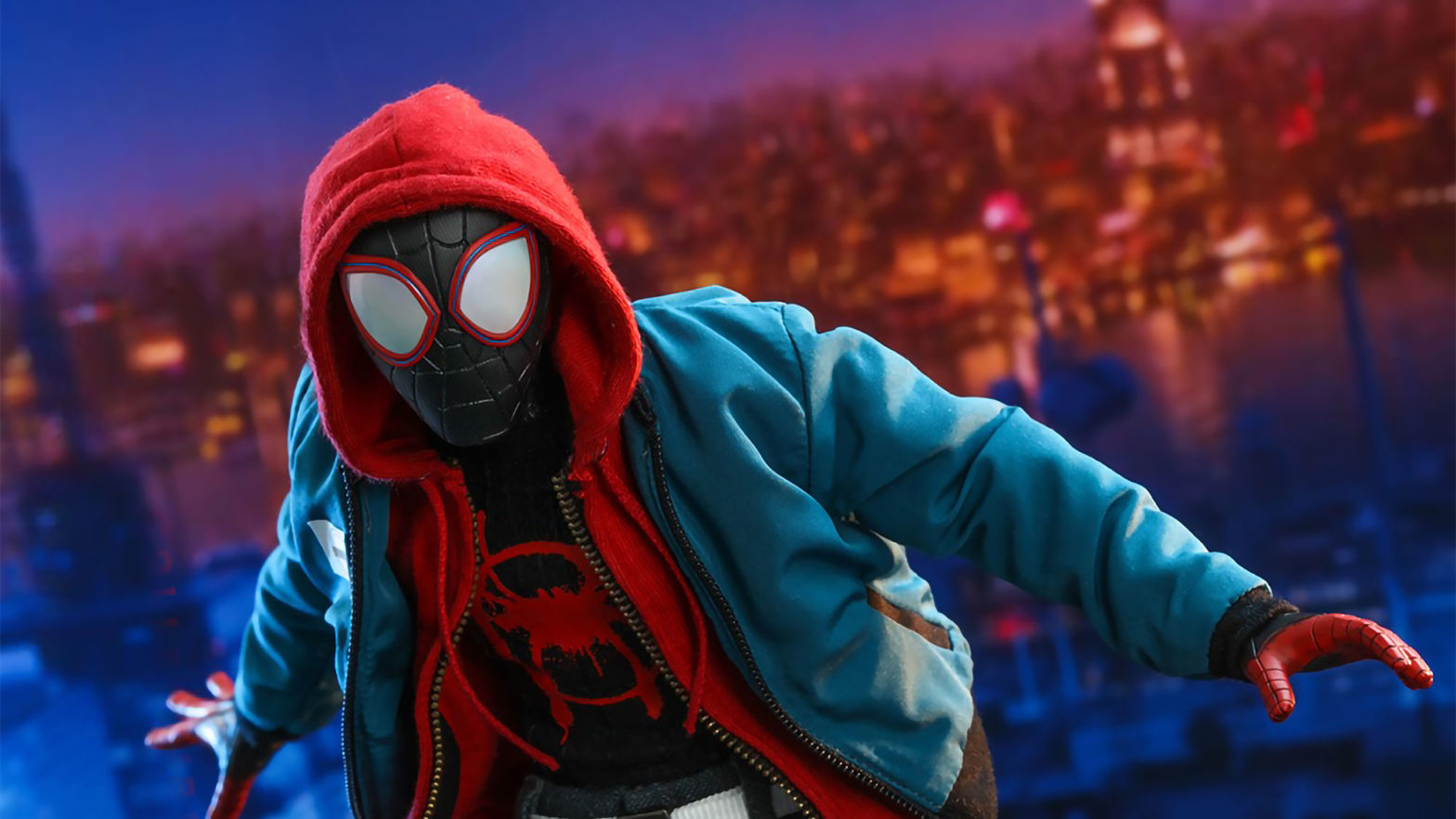 Hot Toys Miles Morales Spider-Man Figure