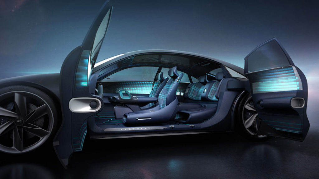 Hyundai Prophecy Concept Electric Vehicle Unveiled