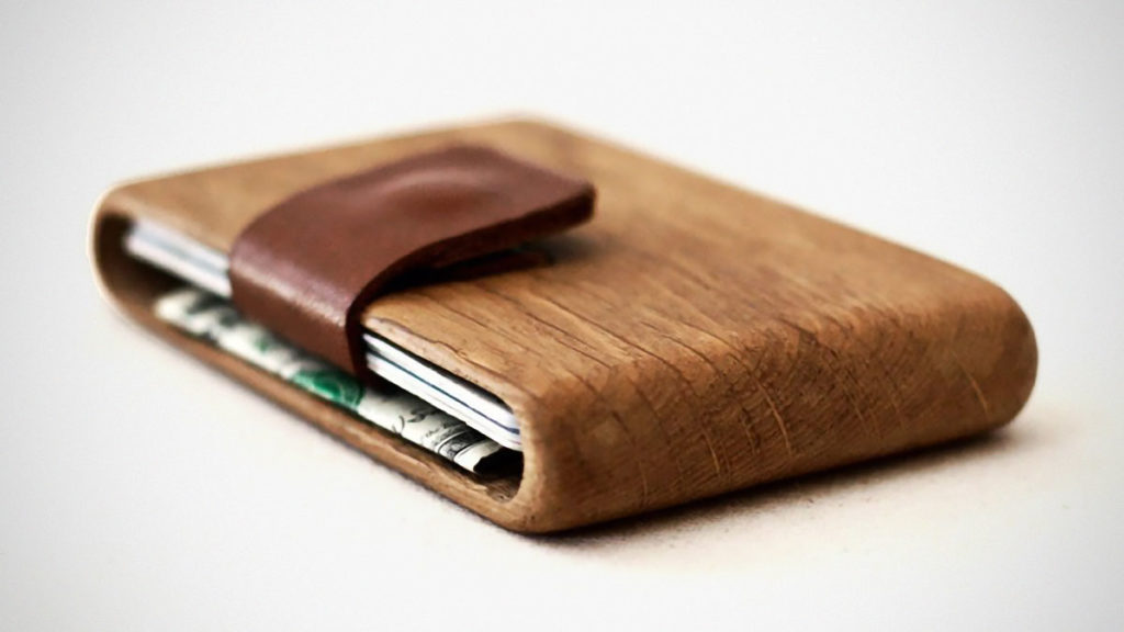 IPPINKA Wood Wallets