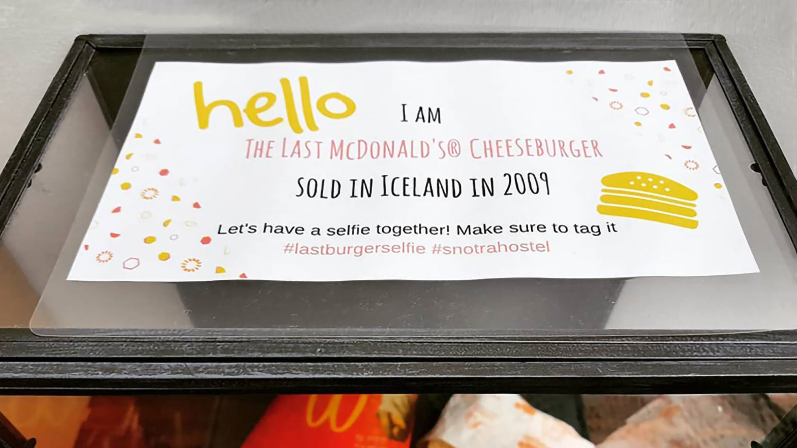 Iceland's Last McDonald's Order Is 10 Years Old