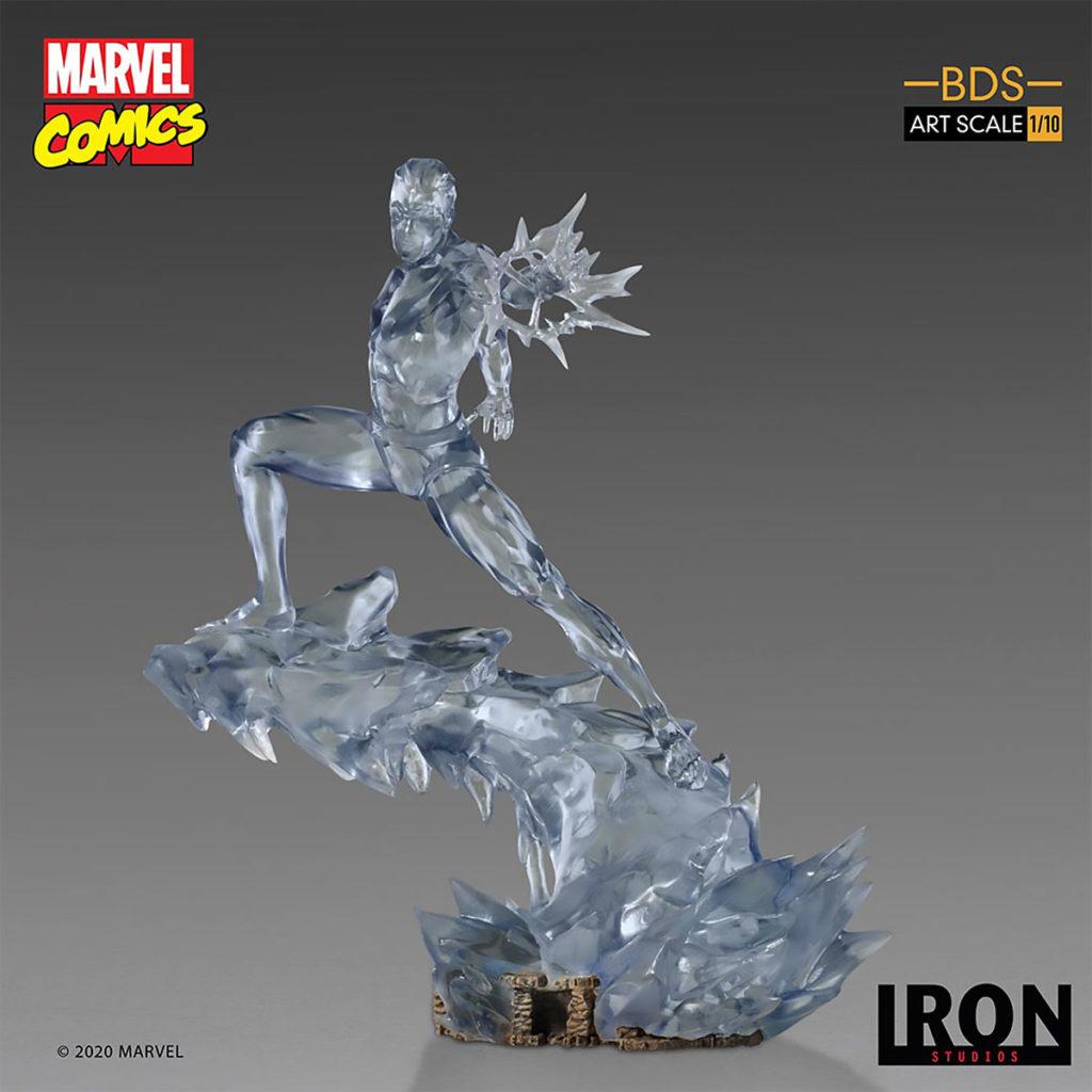 Iron Studios Iceman BDS Art Scale 1/10 Statue