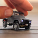 John's Labowicz Radio Control Micro Defender 4×4 Is Possibly The Most Realistic Micro RC Car Ever