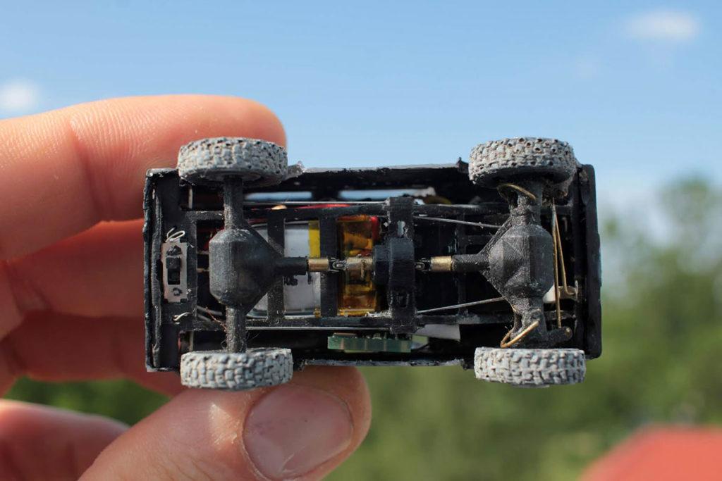 John's Labowicz Radio Control Micro Defender 4x4