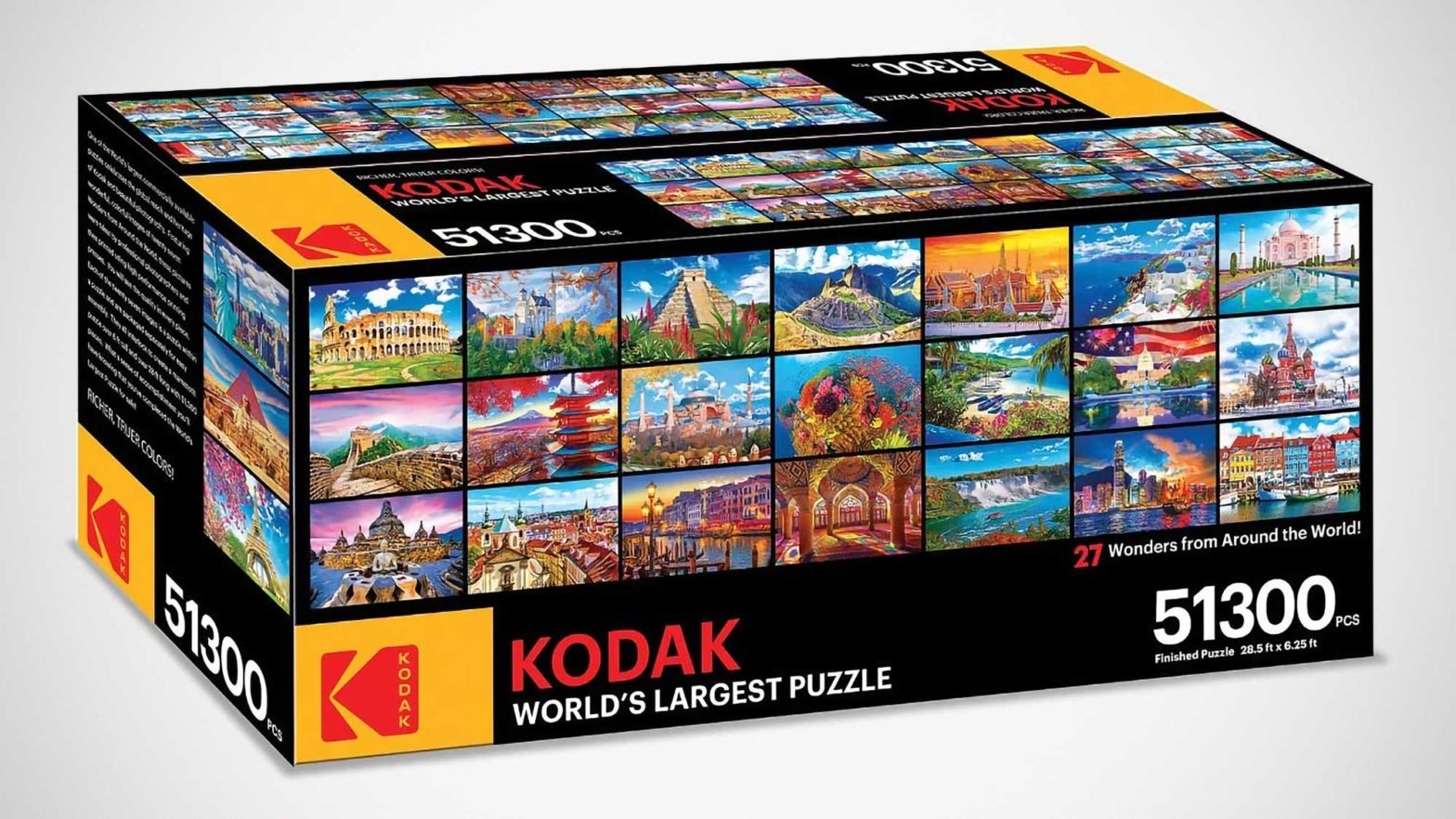 Kodak 51300 Pieces World's Largest Puzzle