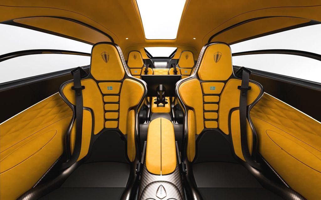 Koenigsegg The Gemera 4-Seater Mega-GT