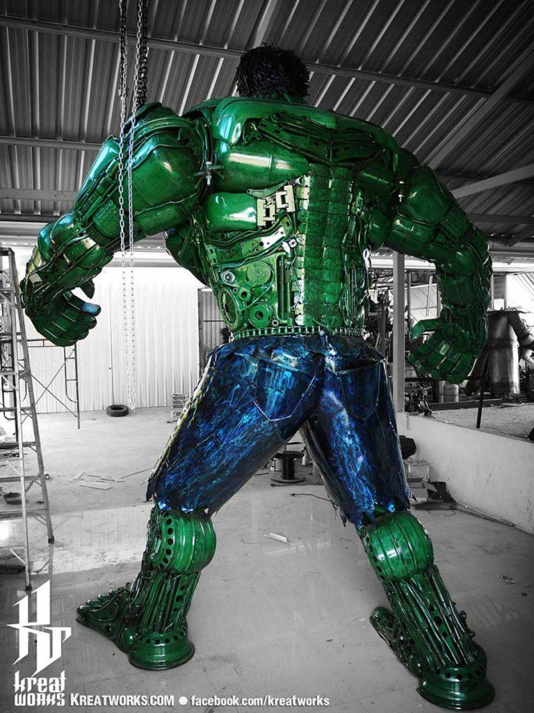 Kreatworks Auto Scrap Hulk Sculpture