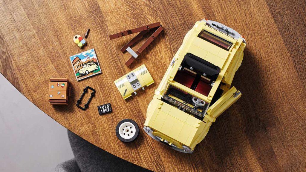 LEGO Creator Expert Fiat 500 Model Kit