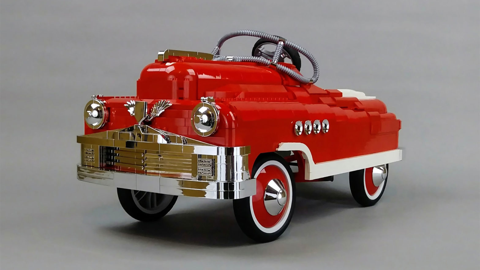 LEGO Ideas 1950s Murray Torpedo Roadmaster Pedal Car by Jake Sadovich