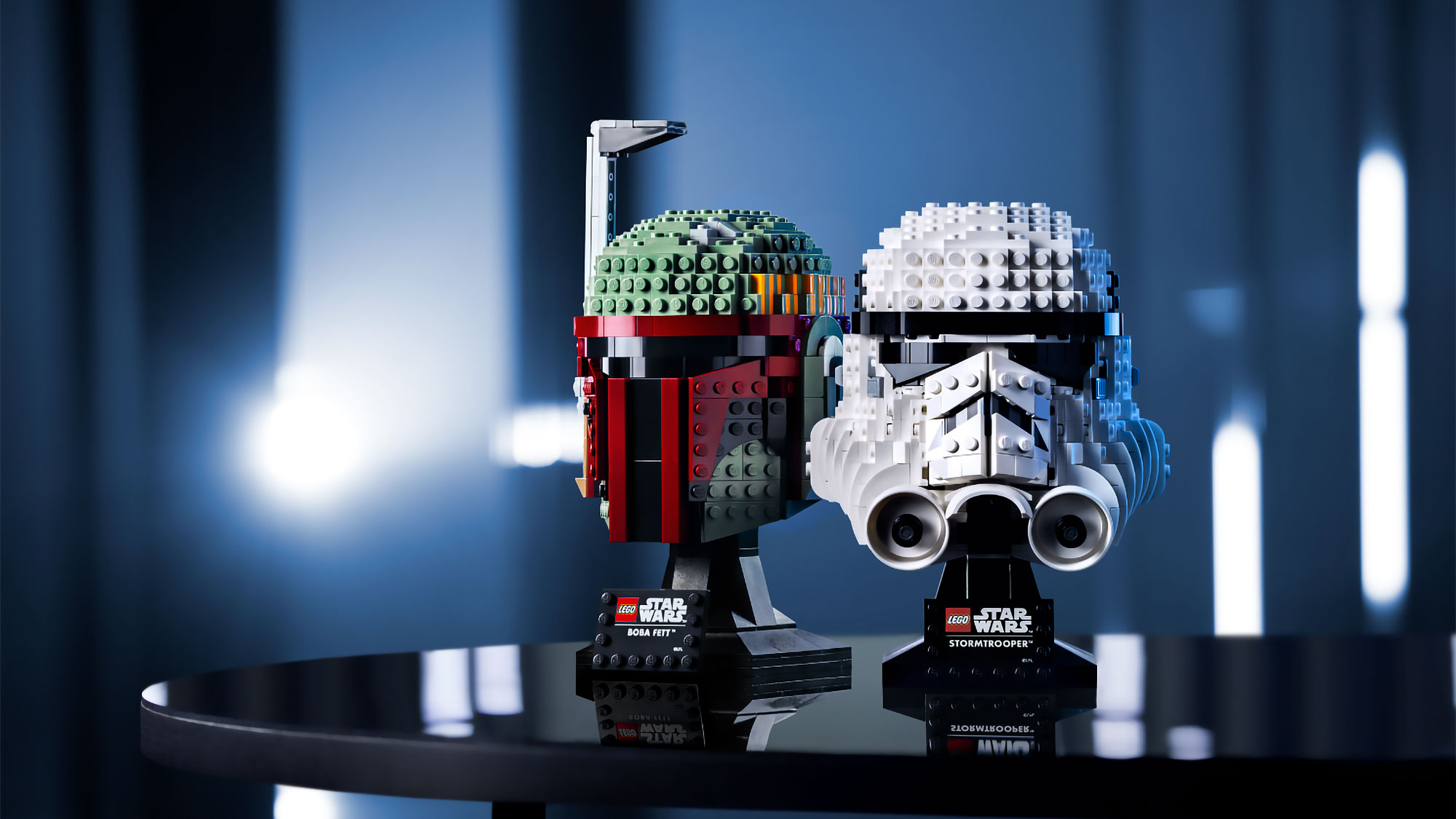 you can now order lego star wars buildable model helmets
