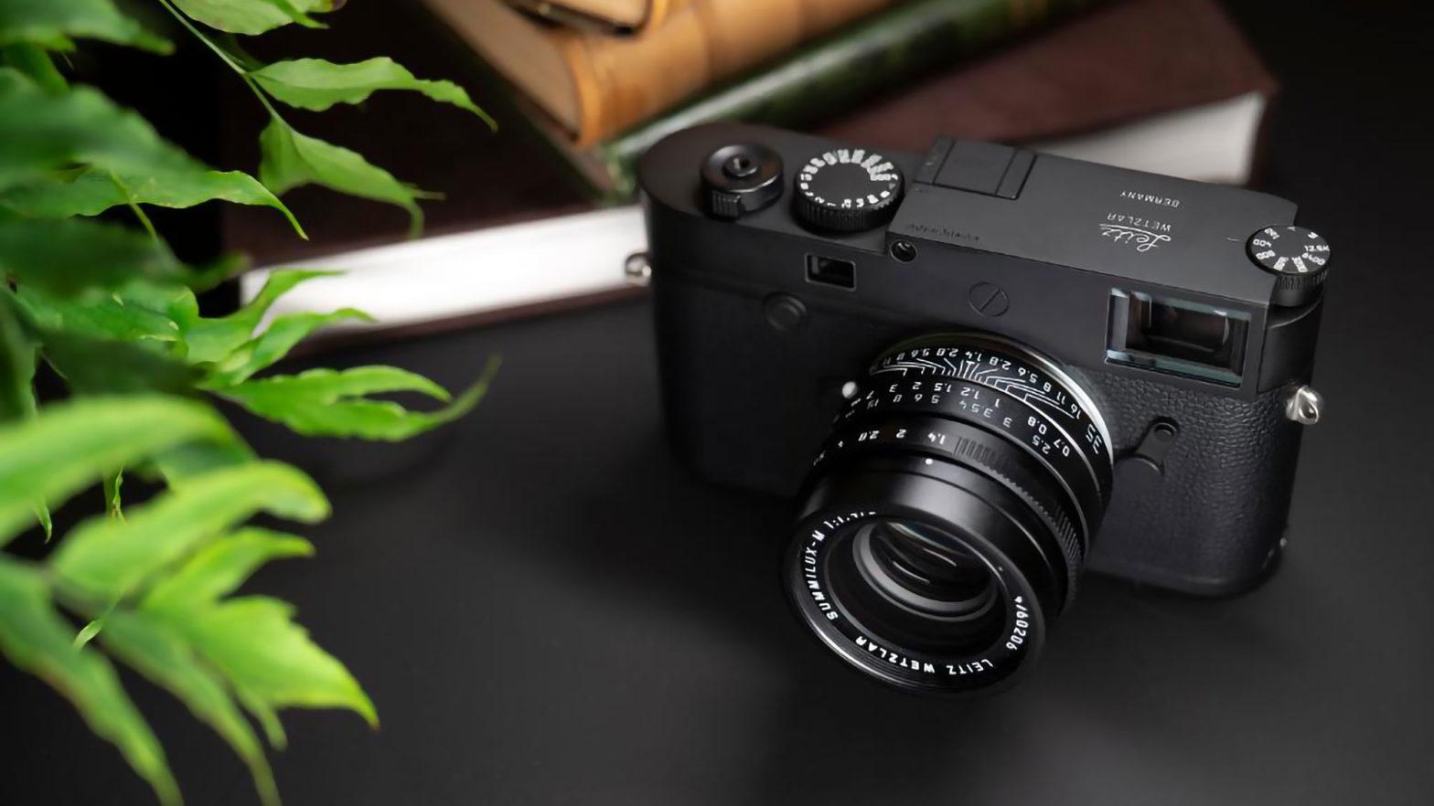 "Leica M10 Monochrom ""Leitz Wetzlar"" Camera"