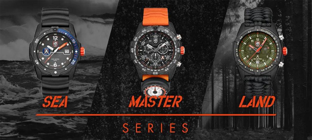 Luminox x Bear Grylls Survival Collection Timepieces