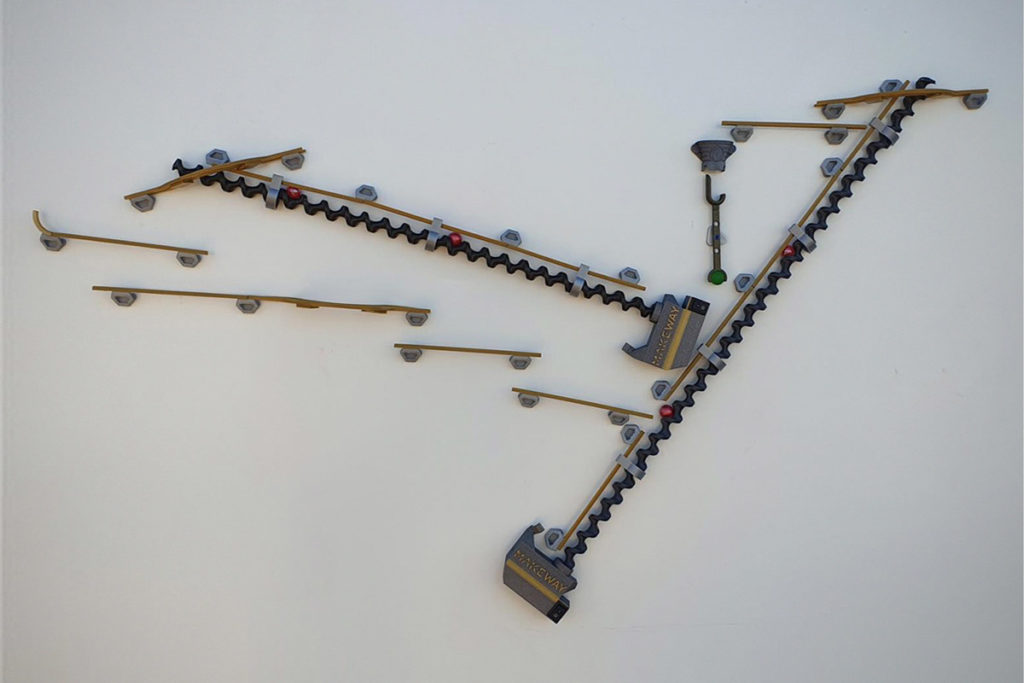 Makeway Build Your Own Marble Puzzle Track