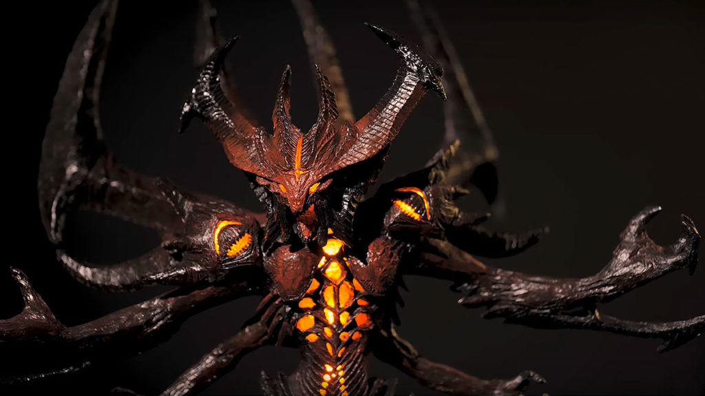 Making A Diablo Statue with 3D Pen