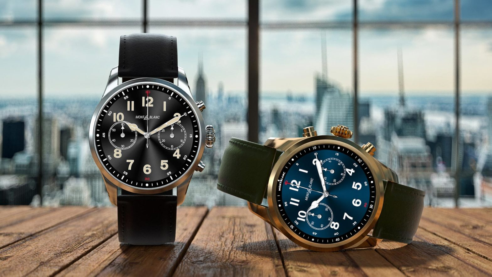 Montblanc Summit 2 Plus Smartwatch