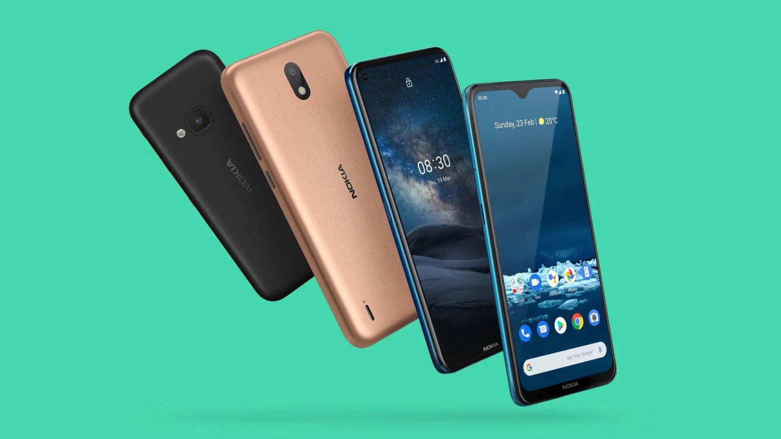 Nokia 8.3 5G, 5.3 and 1.3 Smartphones