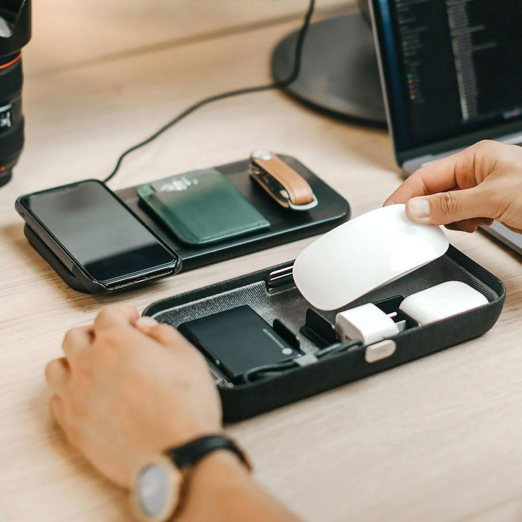 Orbitkey Nest Wireless Charging Desk Tidy