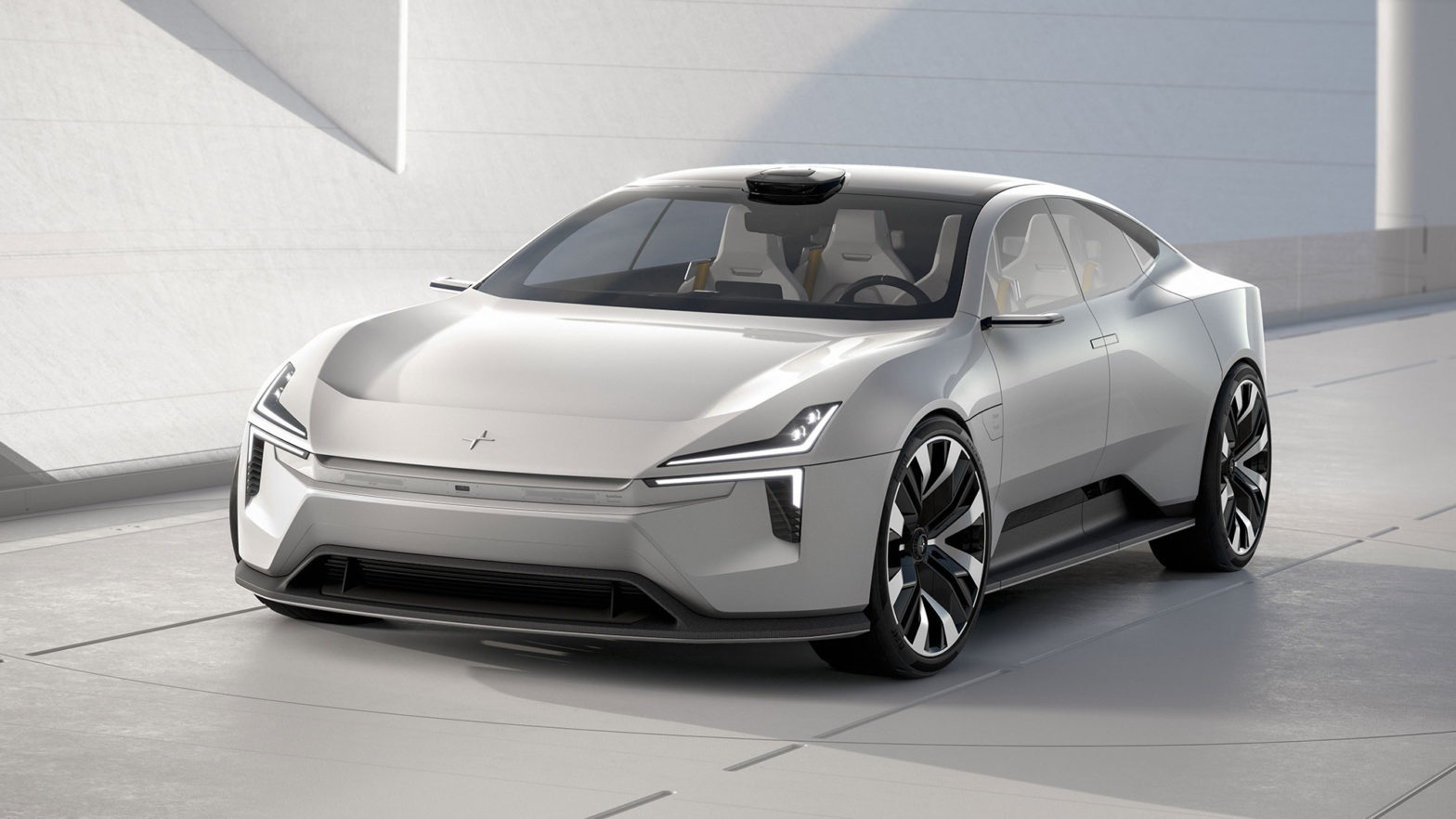 Polestar Precept Concept Electric Vehicle