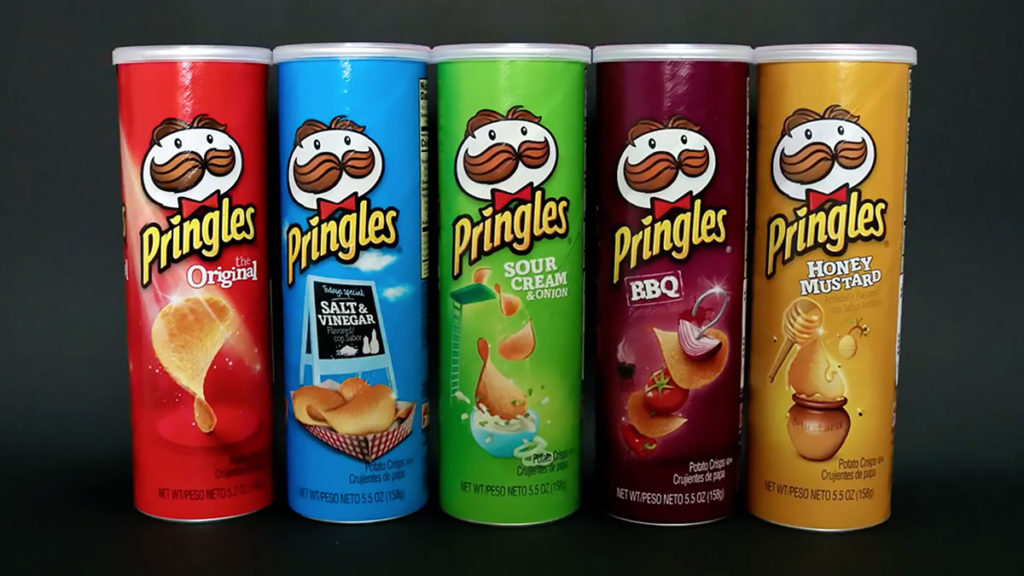 Pringles Figure Made From Pringles Package