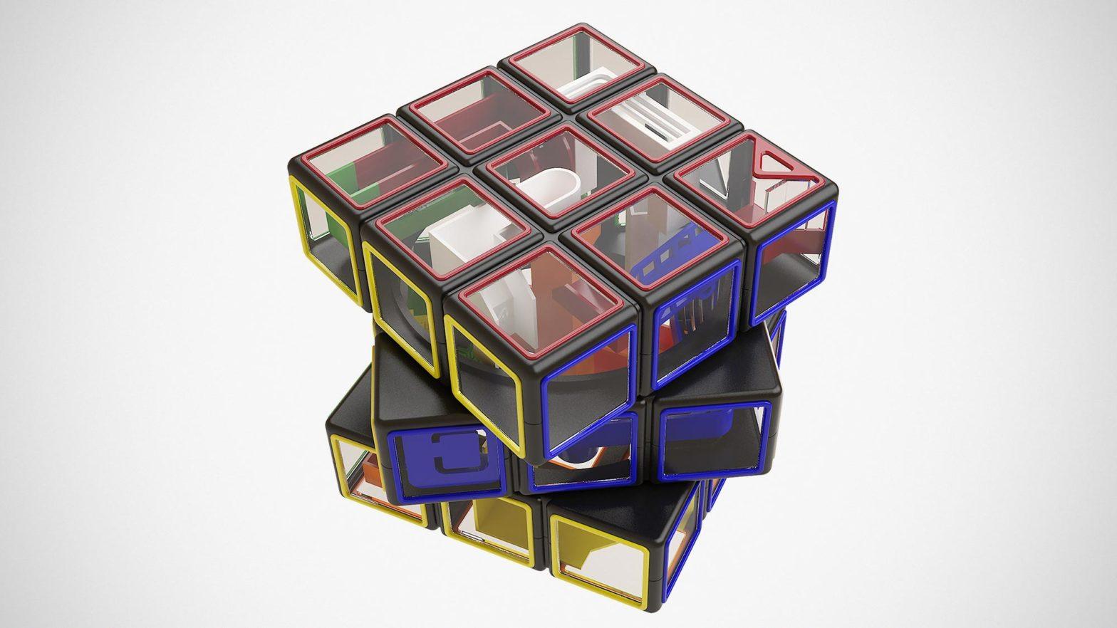 Rubik's Cube x Spin Master Perplexus Puzzles