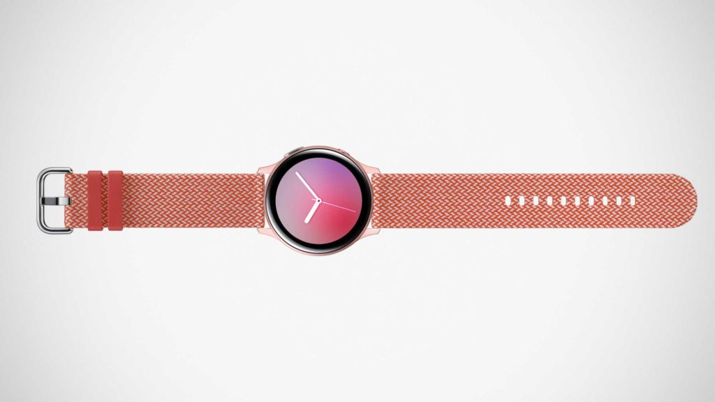 Samsung Galaxy Watch Active2 Band made with Kvadrat
