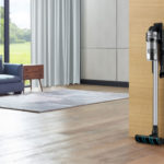 New Samsung Cordless Stick Vacuum Cleaner Is Complemented With High-tech Trash Can
