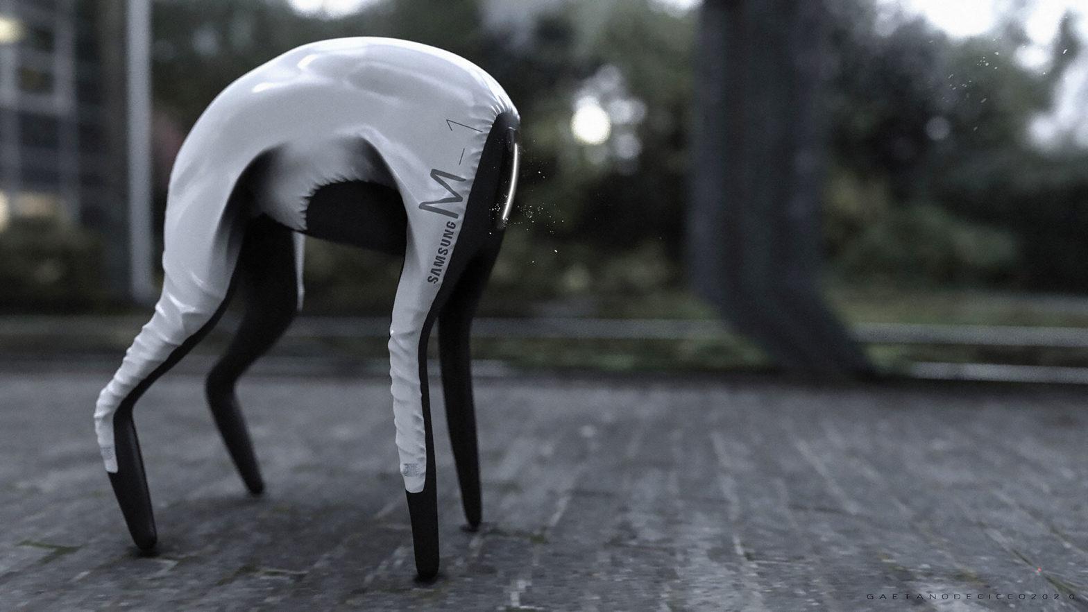 Samsung Prototype Dog-Bot by Gaetano de Cicco