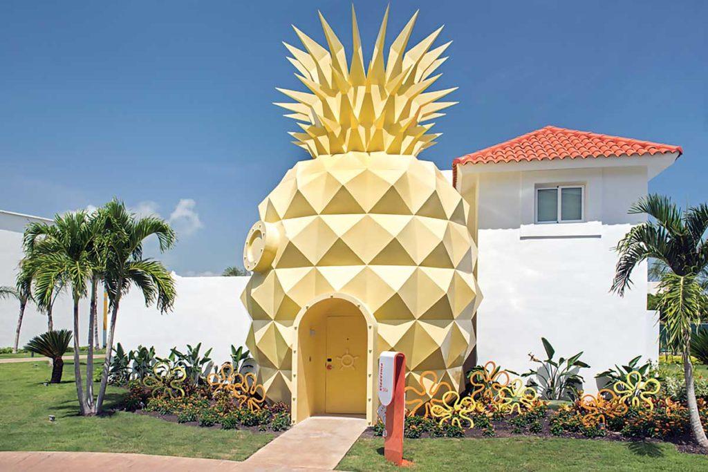 SpongeBob SquarePants The Pineapple Villa