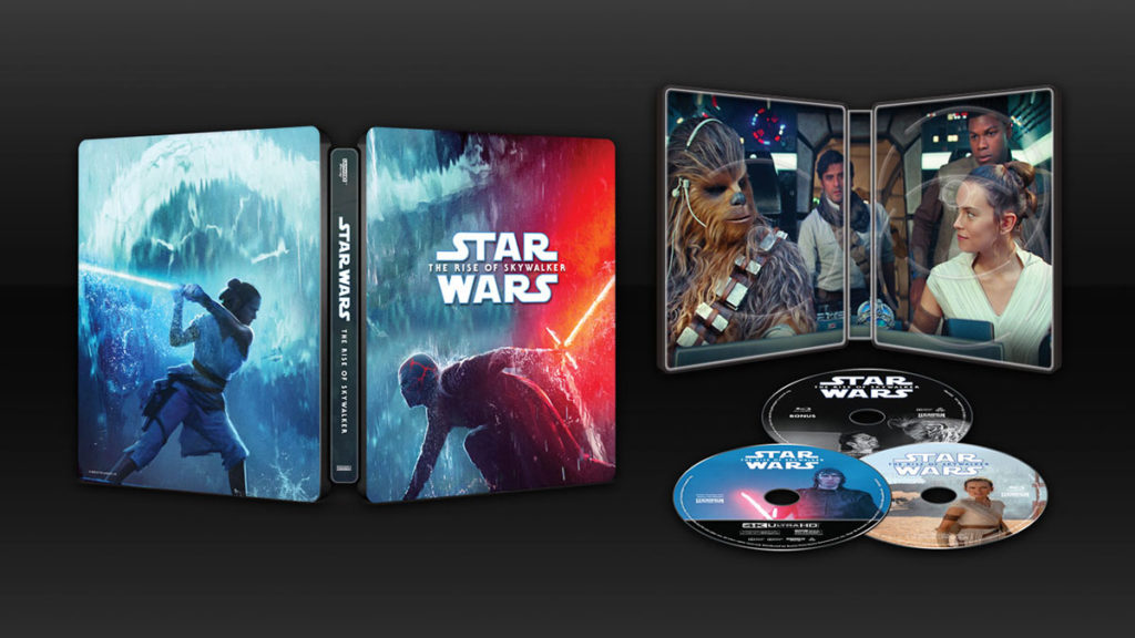Star Wars The Rise of Skywalker Blu-ray Best Buy Exclusive