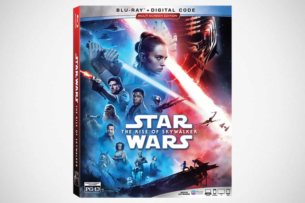 Star Wars The Rise of Skywalker Blu-ray Multi-screen Edition