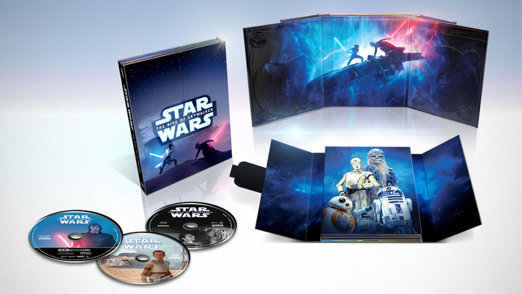 Star Wars The Rise of Skywalker Blu-ray Walmart Exclusive