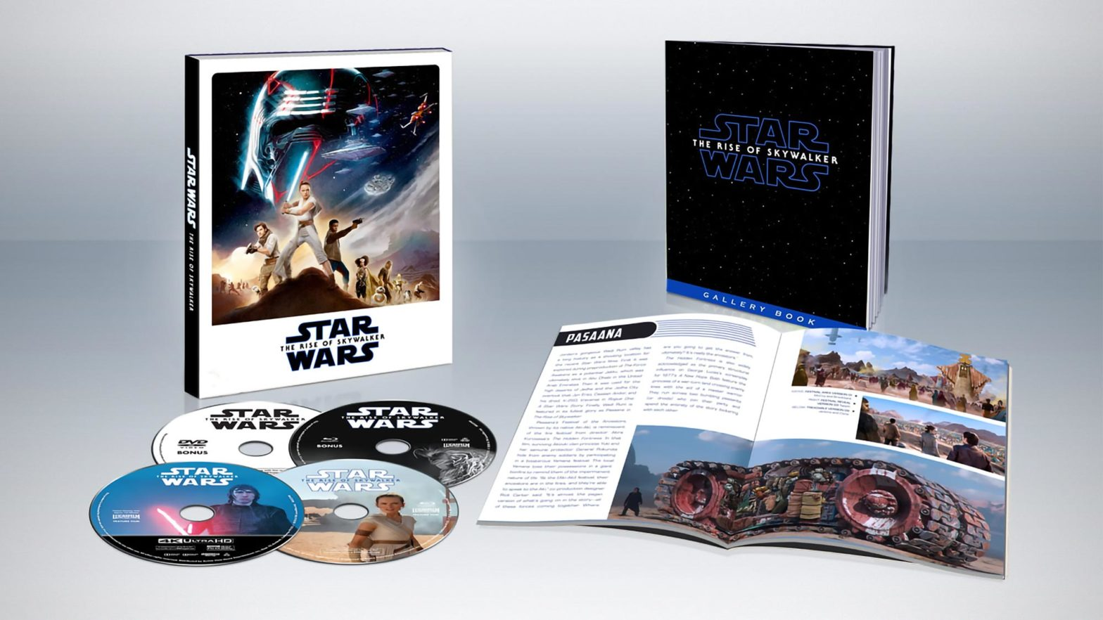 Star Wars The Rise of Skywalker Blu-ray and DVD