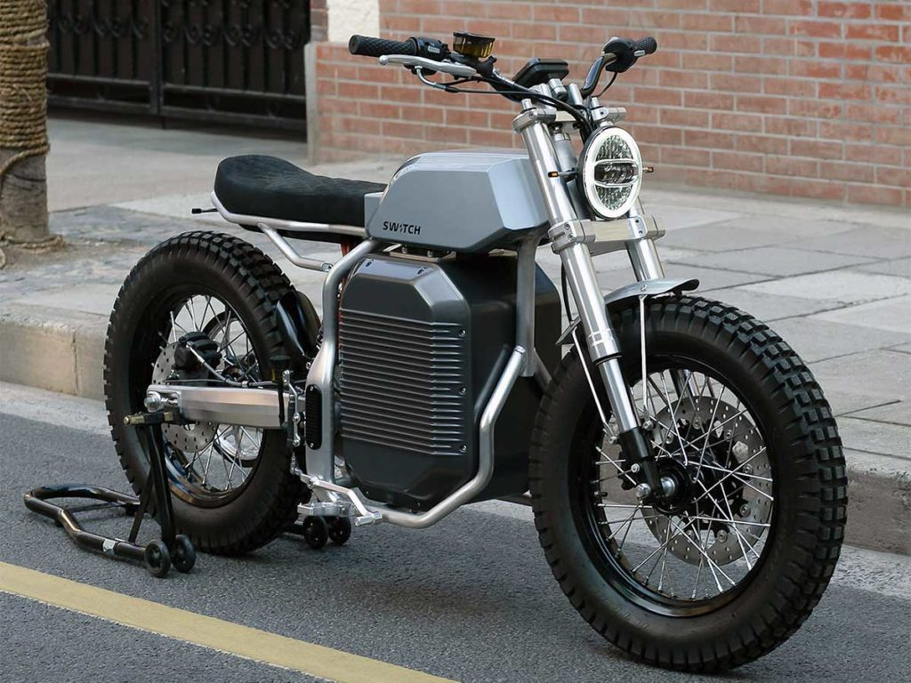 Switch eSCRAMBLER Electric Motorcycle