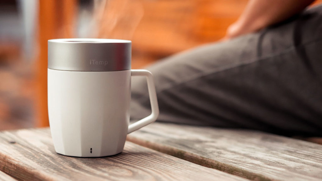iTemp Temperature-controlled Smart Mug and Bowl