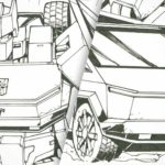 Tesla Cybertruck As Comic Version Generation 1 <em>Transformers</em> Autobot?