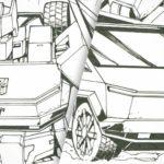 Tesla Cybertruck As Comic Version Generation 1 <em>Transformers</em> Autobot?