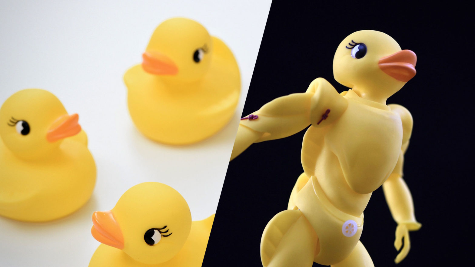 Tomohiro Yasui Rubber Ducky Action Figure