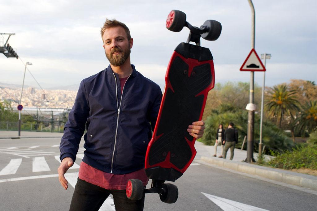 Traqpod Carving Skateboard Kickstarter