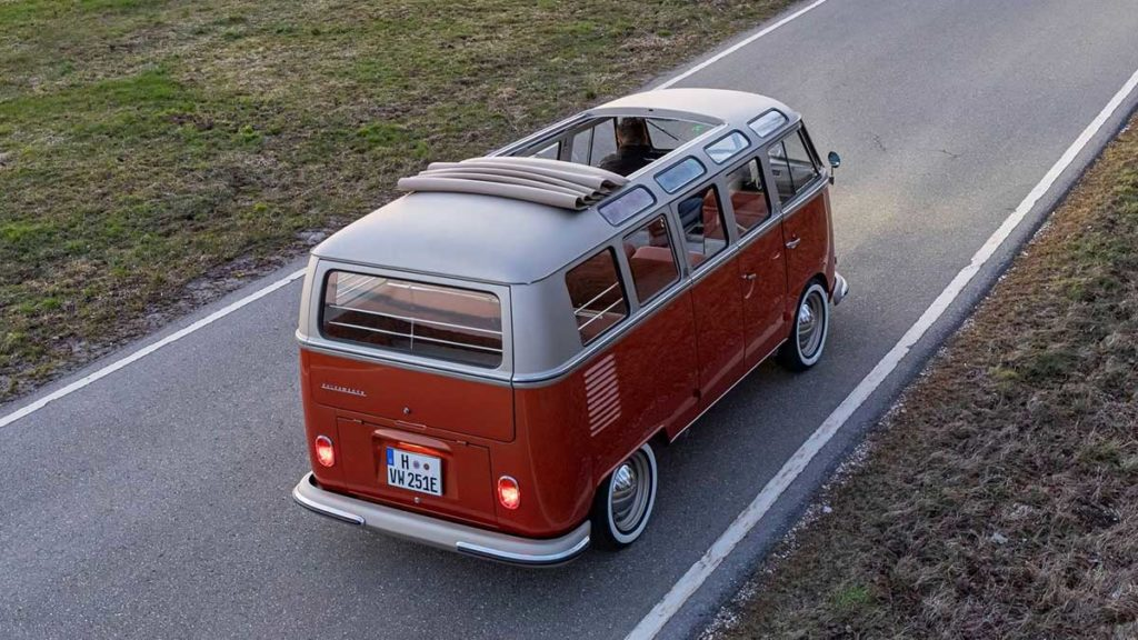 Volkswagen e-BULLI Concept Vehicle