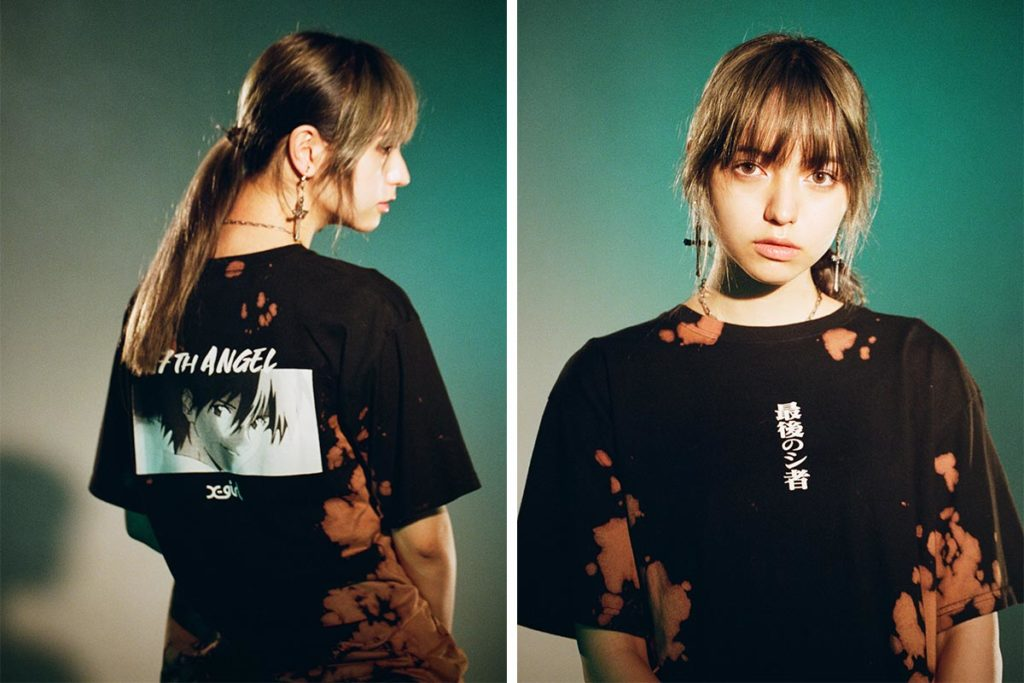X-girl x Evangelion Apparels for Ladies